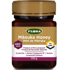 Flora Manuka Honey 400+MGO/12+UMF 250g