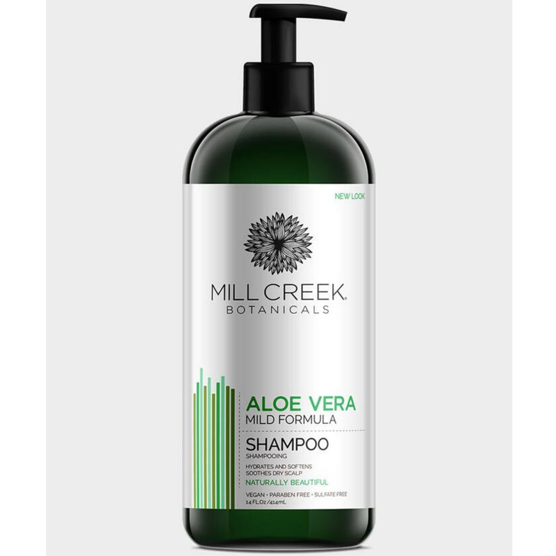Mill Creek Botanicals Aloe Vera Shampoo 414ml