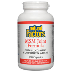 Natural Factors MSM Joint Formula 180caps