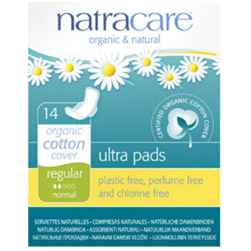 Natracare 14 Organic Regular Ultra pads