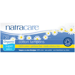 Natracare 20 Super Tampons Bio
