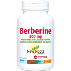 New Roots Berbérine 500mg 60vcaps
