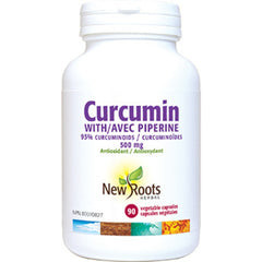 New Roots Curcumine Plus Pipérine 500mg 90vcaps