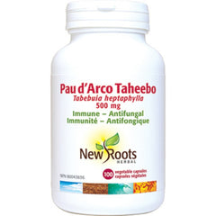 New Roots Pau d'Arco Taheebo 500mg 100vcaps