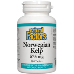 Natural Factors Norwegian Kelp 575mg 180t