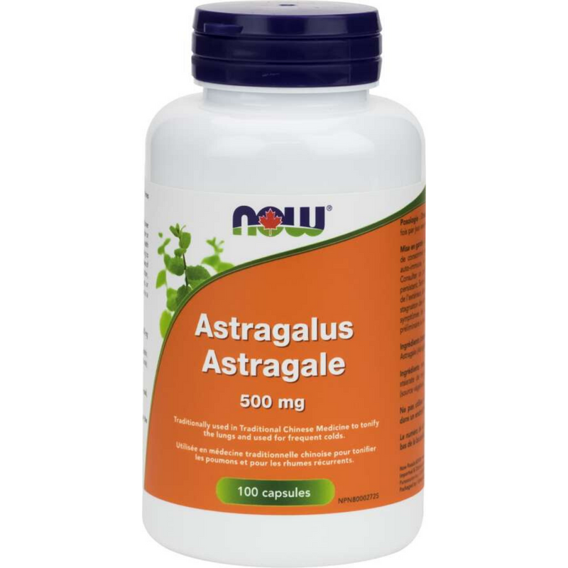 Now Astragalus 500mg  100vcaps