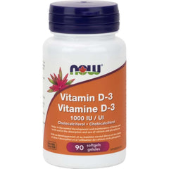 Now Vitamin D-3 1000IU 180sgels