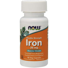 Now Iron 36mg 90vcap