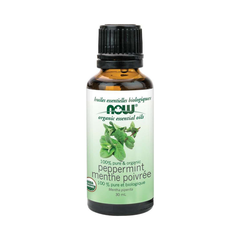 Now Organic Peppermint Oil 30ml