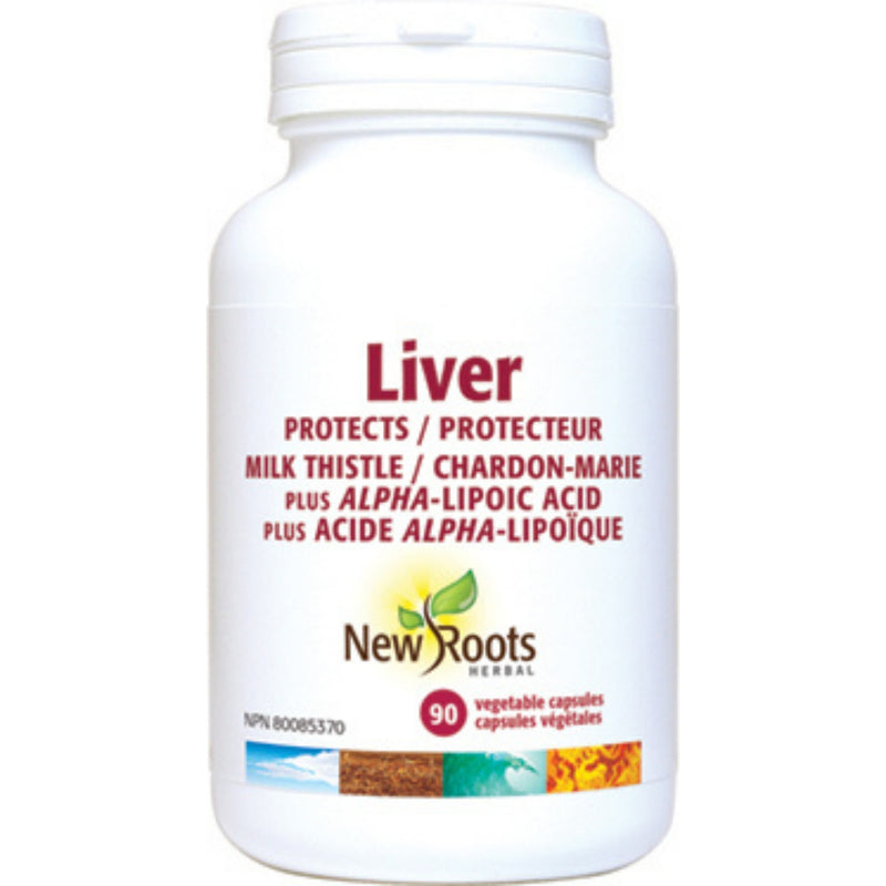 New Roots Liver 90vcaps