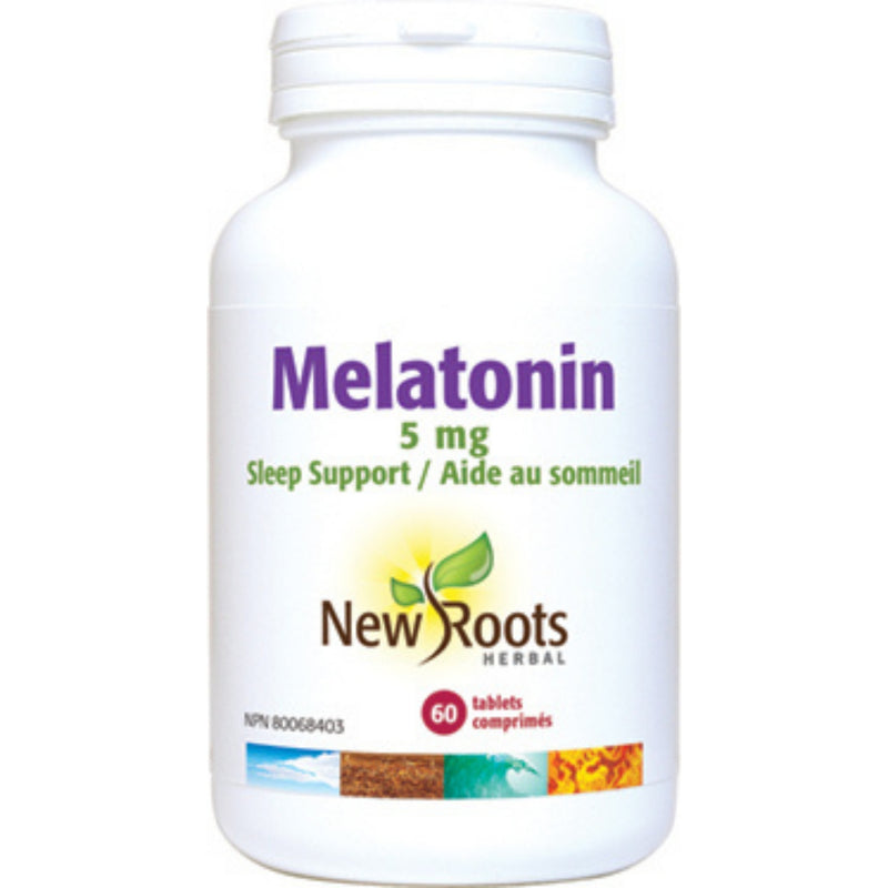 New Roots Melatonin 5mg 60tabs