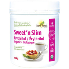 New Roots Sweet n Slim Érythritol 454g