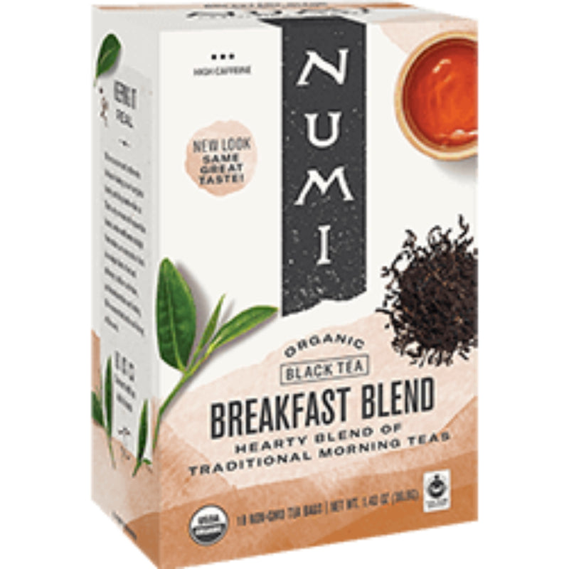 Numi Organic Breakfast Blend 18 Tea Bags