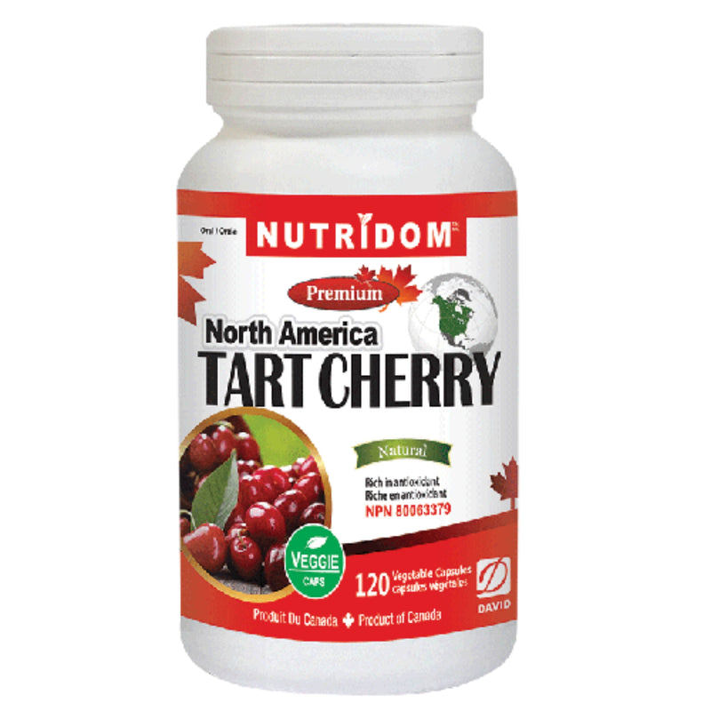 Nutridom North American Tart Cherry 120vcaps