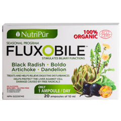 NutriPur Fluxobile Seasonal Program 20 Ampoules of 10ml