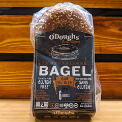 O'Doughs Vegan Pumpernickel Bagel 300g