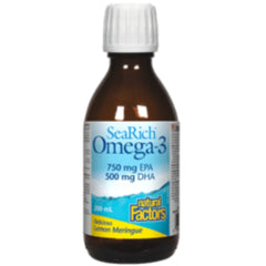 Natural Factors Searich Omega 3 lemon  200ml