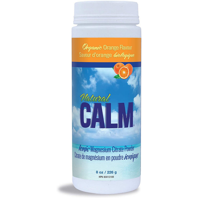 Natural Calm Organic Orange Magnesium Citrate 226g