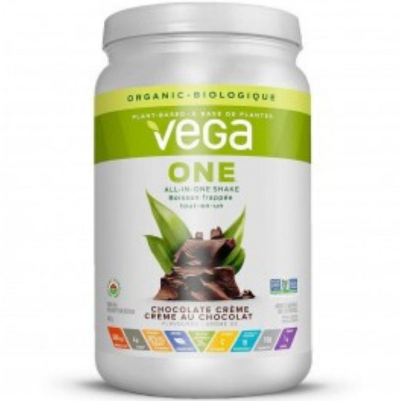 Vega All-In-One Organic Chocolate Creme 625g