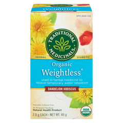 Traditional Medicinals Organic Weightless 20 Tea Bags