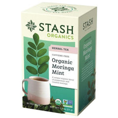 Stash Organic Moringa Mint 18 Tea Bags