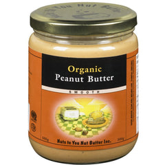 Nuts to You Organic Peanut Butter Smooth 500g