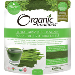 Organic Traditions Wheat Grass Juice Powder 150g