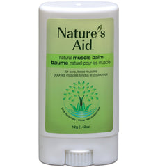 Nature's Aid Natural Muscle Balm 12g