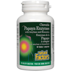 Natural Factors Papaya Enzymes 60 chewables