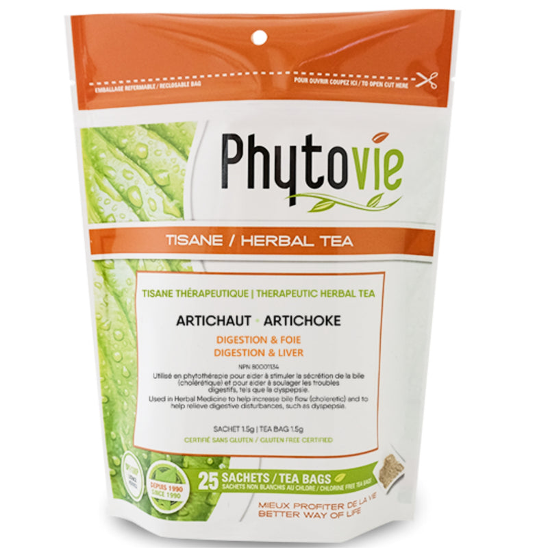 Phytovie Artichoke Herbal Tea 25 Tea Bags