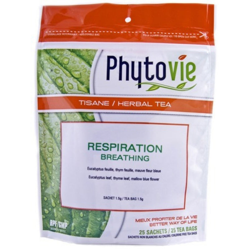 Phytovie Breathing 25 Tea Bags