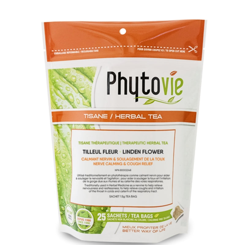 Phytovie Linden Flower 25 Tea Bags