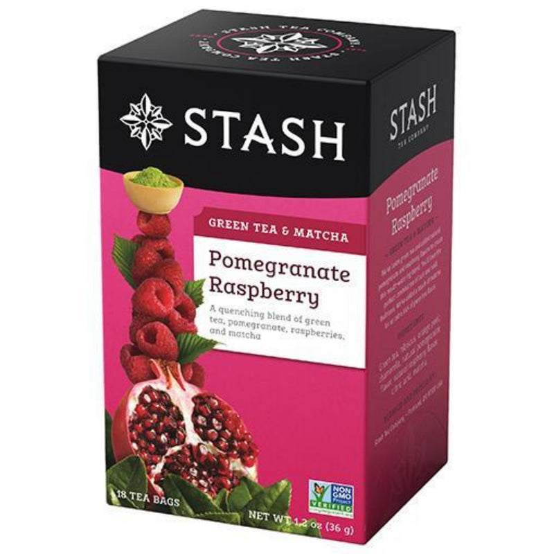 Stash Pomegranate Raspberry 18 Tea Bags