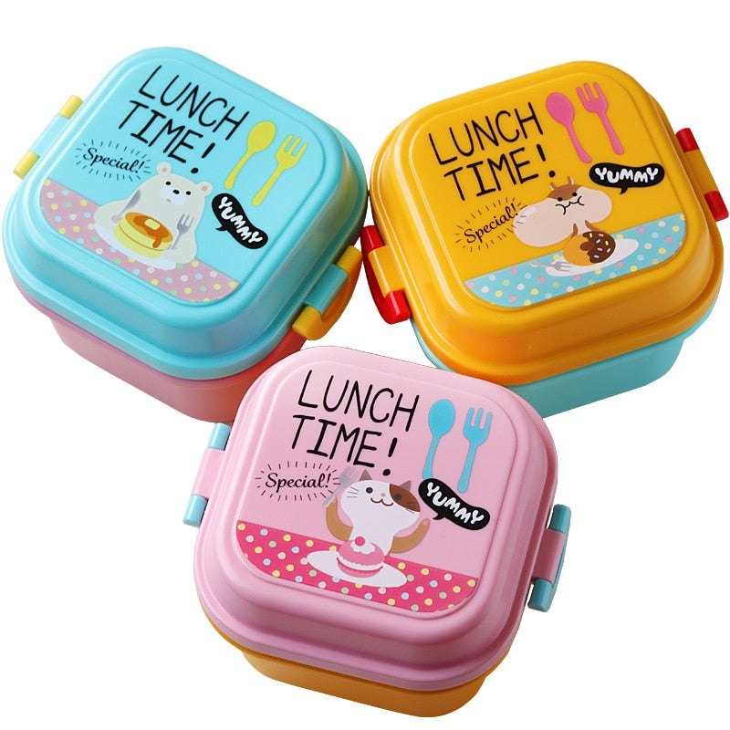 Cartoon Plastic Lunch Box