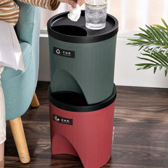 Bac de recyclage empilable ménager
