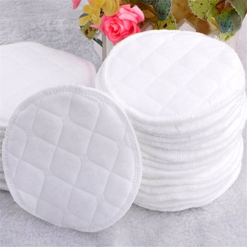 10pcs three layers of Ecological Cotton Washable Breastfeeding Pads