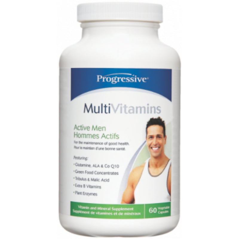 Progressive Men's Active Multivitamin 60vcaps
