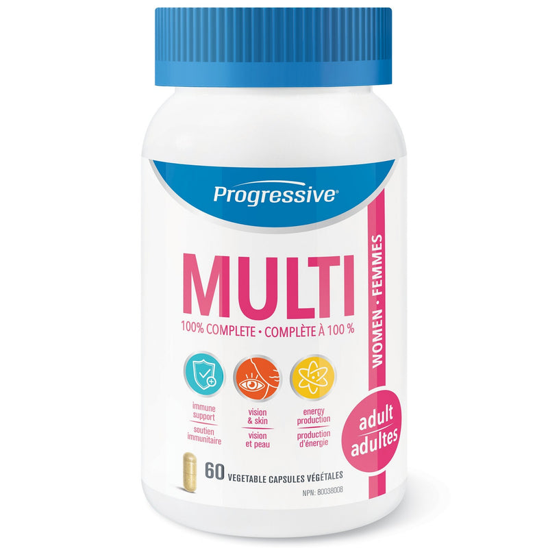 Progressive Women's Multivitamins 60vcaps