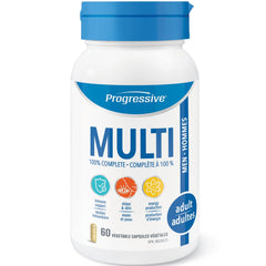 Progressive Adult Men MultiVitamin 60vcaps