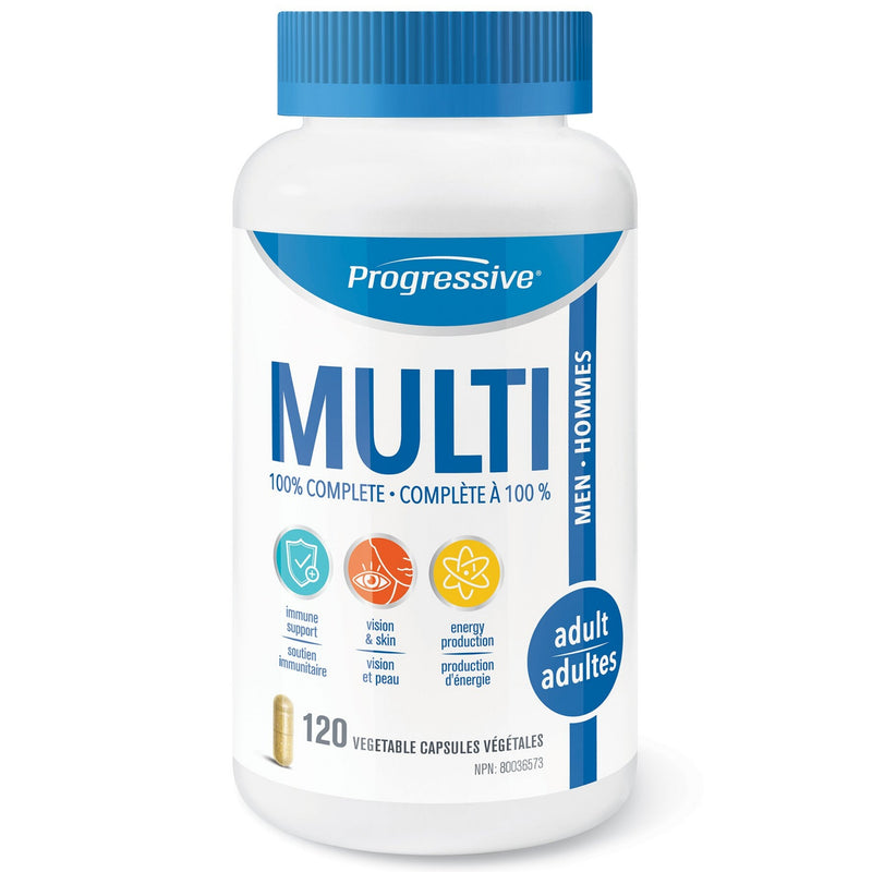 Progressive Men's Multivitamin 120vcaps