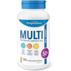 Progressive Men's 50+ Multivitamin 120vcaps
