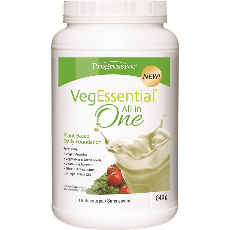 Progressive VegEssential All in One Protein Supplement Unflavoured 840g