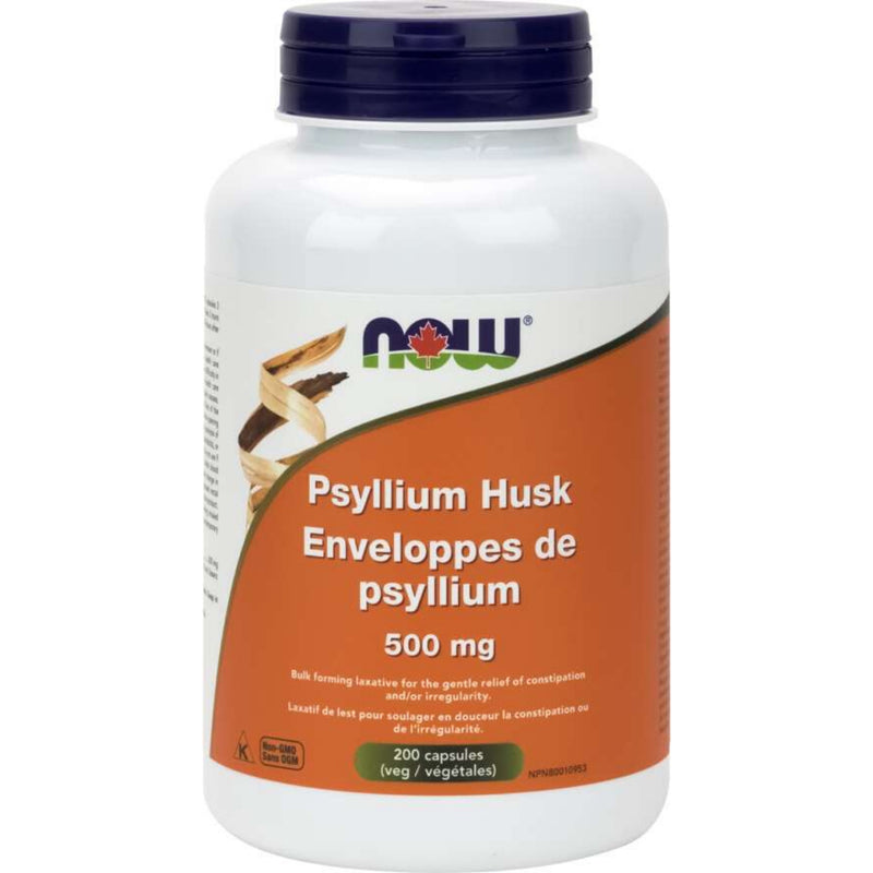 Now Psyllium Husk 500mg 200caps