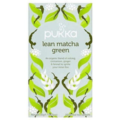Pukka Lean Matcha Green 20 Tea Bags