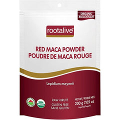 Rootalive Red Maca Powder Organic 200g