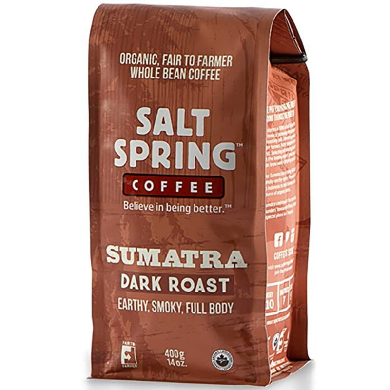 Salt Spring Sumatra Dark Roast Coffee 400g