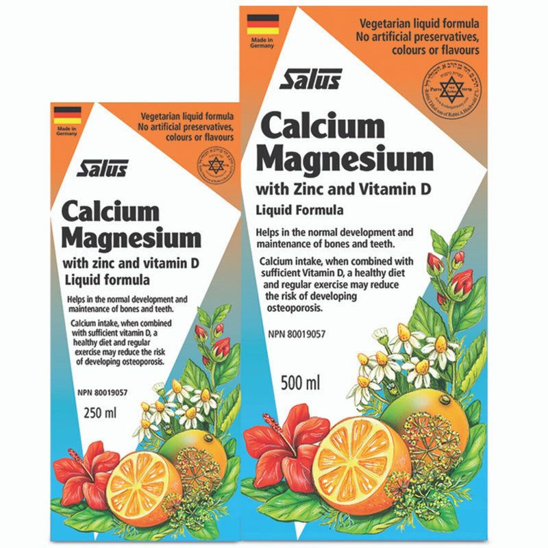 Salus Calcium Magnesium Due Pack 250 & 500ml