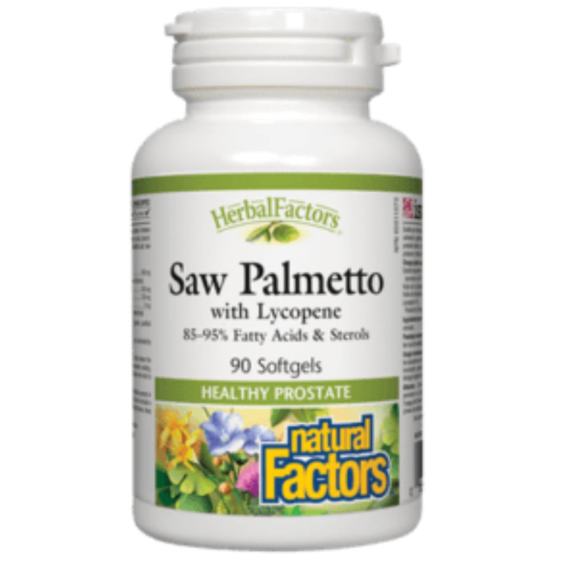 Natural Factors Saw Palmetto with Lycopene  90sgels