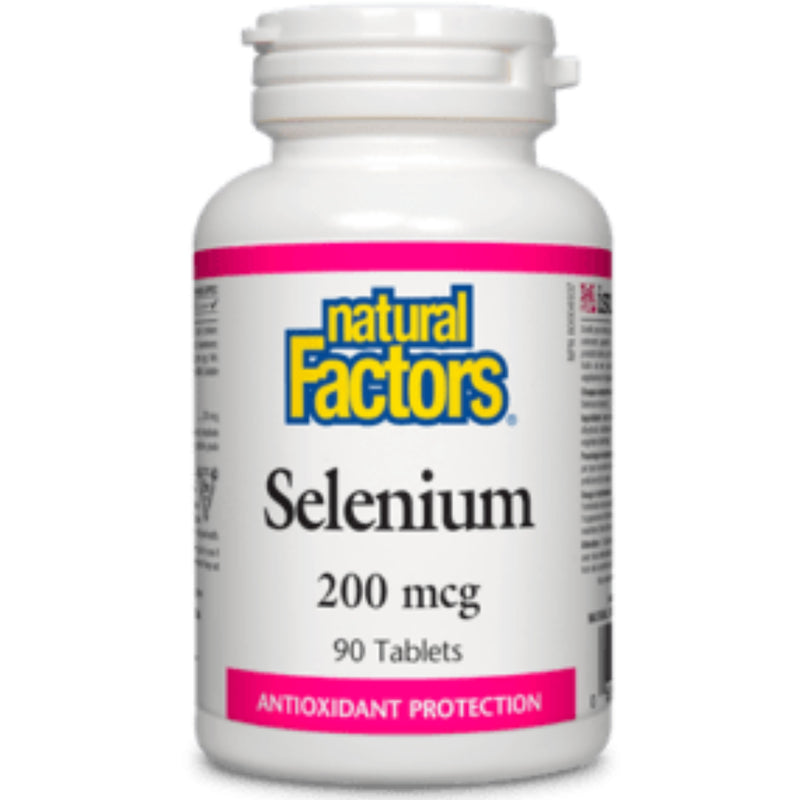 Natural Factors Selenium 200mcg 90tabs