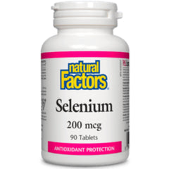 Natural Factors Selenium 200mcg 60tabs